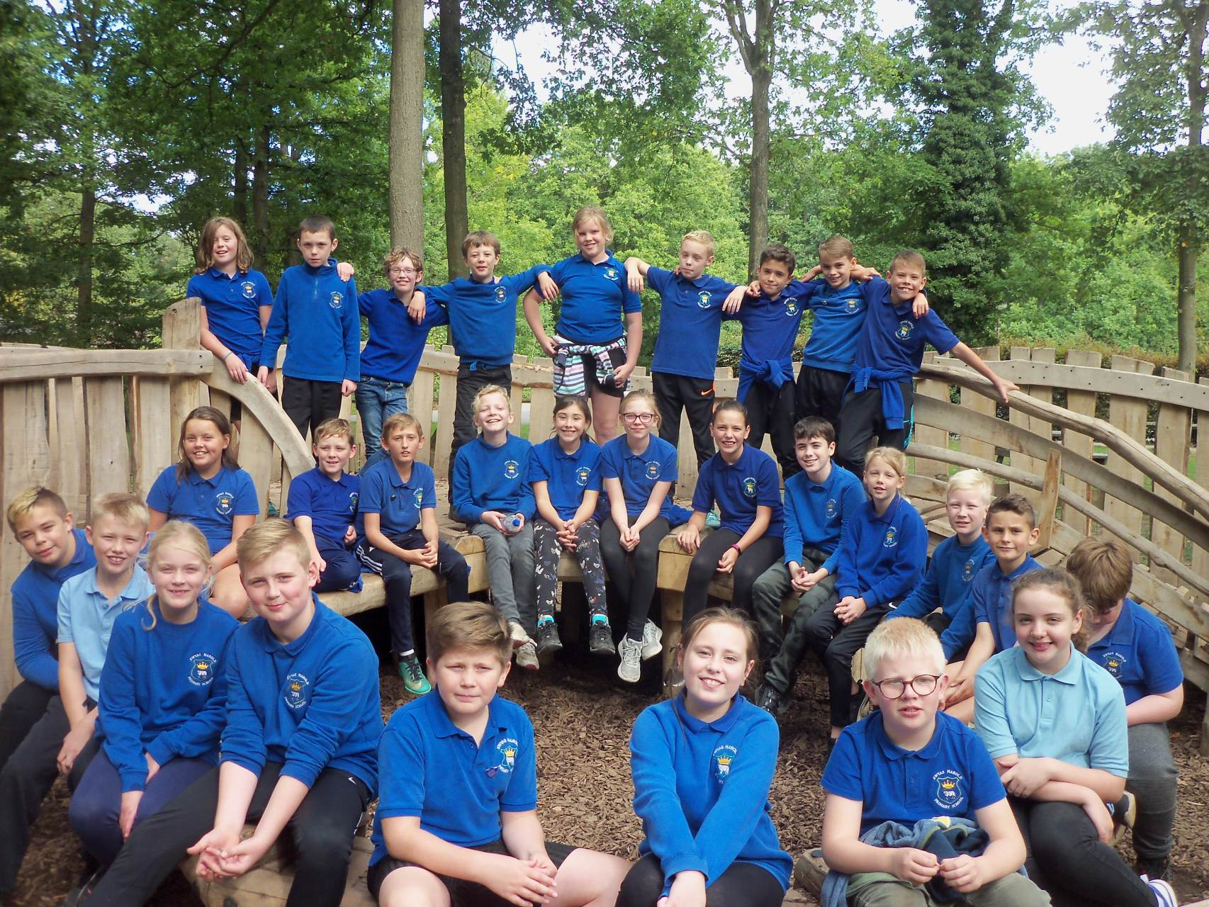 Class 6 at Queenswood